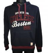 Pánská mikina Supporter club College Boston 1981 tmavě modrá