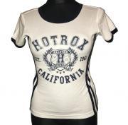 Dámské tričko s krátkým rukávem Hotrox California 1961 bílá