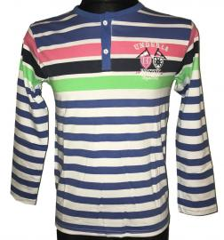 Chlapecké tričko s dlouhým rukávem Westsix Royal 1921 modrá Velikost - 12 let