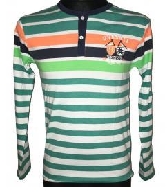Chlapecké tričko s dlouhým rukávem Westsix Royal 1921 zelená Velikost - 16 let