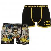 Spodní prádlo Character 2 Pack Boxers Mens Batman