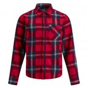 Košile Jack and Jones Junior Colby Check Shirt Fiery Red