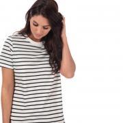 Šaty Only Womens June Stripe Dress White Black