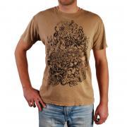 Pánské triko Billabong hnědá
