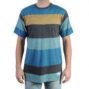 Pánské triko Billabong modrá/žlutá/černá