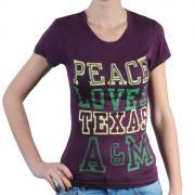 Dámské triko Pink by Victoria Secret fialová