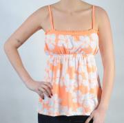 Dámský top Ocean Pacific oranžová/bílá