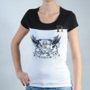 Dámské triko Rocawear bílá/černá