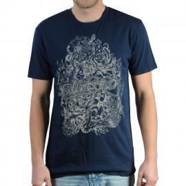 Pánské triko Billabong modrá