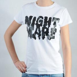 Dámské triko Gildan bílá