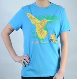 Dámské triko Ralph Lauren modrá
