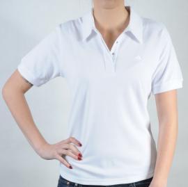 Dámské polo triko Adidas bílá