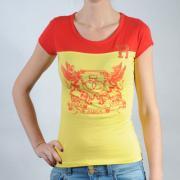 Dámské triko Rocawear červená/žlutá