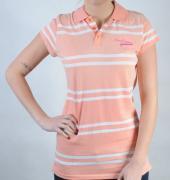 Dámské triko Lee Cooper růžová/bílá