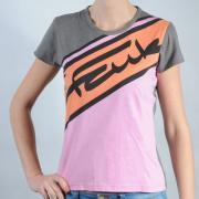 Dámské triko French Connection růžová/oranžová/šedá