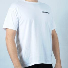 Pánské triko Gildan - Ian Brown bílá