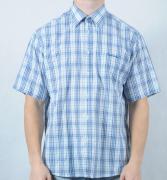 Pánská košile Pierre Cardin bílá/modrá