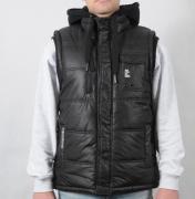 Pánská vesta Crosshatch černá