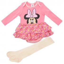 Dětské bodýčko Disney - Růžová Minnie