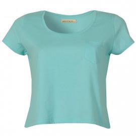 Dámské tričko Brave Soul - tyrkysové