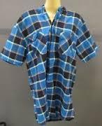 Pánská košile Lee Cooper- Modrá/Černá/Bílá