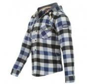 Dětská košile Lee Cooper- Modrá/Černá/Bílá