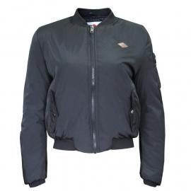 Lee Cooper Bomber Jacket Ladies Black