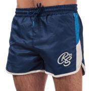 Crosshatch Mens Barli Shorts Blue