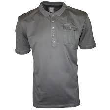 Pánské polo tričko Police- Šedé