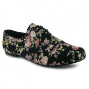 Golddigga Floral Ladies Shoes tmavě modrá