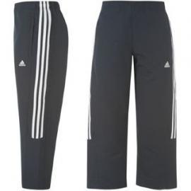 Dámské 3/4 kaloty - Adidas - Modro/bílé