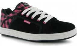 Dámské sportovní boty Airwalk G6 - šněrovací černo/ růžová