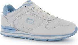 Dámské sportovní boty Slazenger Classic - šněrovací  bílo/ světle modrá