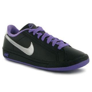 Dětské sportovní boty Nike Main - černo fialové Velikost - UK3 (euro 36) 481da78b93
