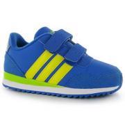 Dětské sportovní boty Adidas Jogger - modro žluté na suchý zip e98c00a206