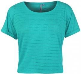 Dámské tričko Golddigga - zelené děrované