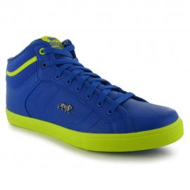 Pánské sportovní boty kotníčkové Lonsdale Canons - modro/žluté