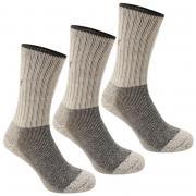 Ponožky Karrimor Midweight Boot Sock 3 Pack Mens Beige