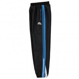 Tepláky Lonsdale Two Stripe Closed Hem Woven Pants Junior Boys Blk/BrBlue/Wht