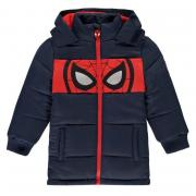 Bunda Character Padded Coat Infant Boys Spiderman