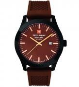 Swiss Alpine Military Uhr SAM7055.1876 Brown
