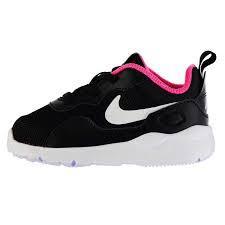 Nike LD Stargazer Runner Infant Girls Trainers Black/Wht/Pink