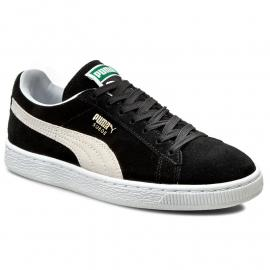 Boty Puma Suede 2 Strap Infant Trainers Black/ white