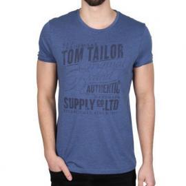 Pánské triko Tom Tailor  modrá