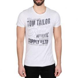Pánské triko Tom Tailor  White