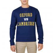 Oxford University OXFORD-FLEECE-CREWNECK blue