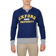 Oxford University OXFORD-FLEECE-RAGLAN blue