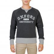 Oxford University OXFORD-FLEECE-RAGLAN grey