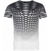 Tričko Firetrap Luxe Sub T Shirt Mens White/Black