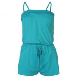 Ocean Pacific Jersey Jumpsuit Ladies Teal
